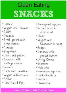 Clean Eating Snacks | Ecocentric Mom Blog. You can also learn more about meal planning on my blog: http://wp.me/p449VI-3U #PintentionalLiving