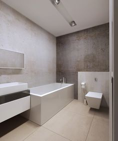 Badezimmer mit Wandputz verschönern