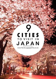9 Cities You Have to Visit in Japan - Hand Luggage Only - Travel, Food & Home Blog #JapanTravelBucketLists