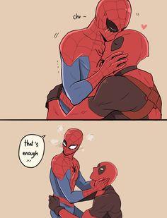 「Kiss me」/「mewwi12345」の漫画 [pixiv] Part 2(1212×1591) | Pixiv | Spideypool | Spiderman | Deadpool | Spiderman x Deadpool