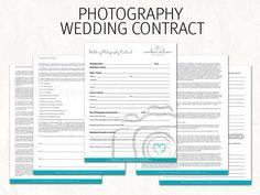 Mariage photographie contrat  mariage  photographie