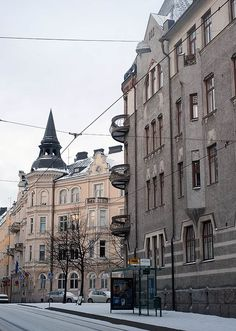 katajanokka neighbourhood in Helsinki Lappland, Helsinki Things To Do, Beautiful Buildings, Beautiful Places, Alaska, Visit Helsinki, Scandinavian Countries, Modern City, Travel Inspiration