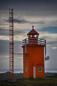 Hópsnes Lighthouse, Grindavík, Iceland