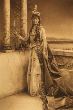 Lady de Trafford as Semiramis Queen of Assyria p261