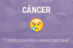 Emoji do Signo Câncer Cancer Sign, Zodiac Signs, Surfing, Memes, Happy, Life, Instagram, Park, Disney