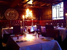 Breakfast time at The Witchery Restaurant The Witchery by the Castle, Edinburgh