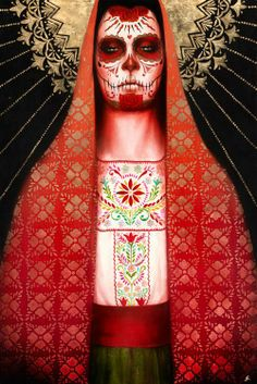 Virgen De Soledad  By Sylvia Ji