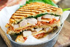 This Chicken Bacon Ranch Panini is fast, fresh, and ready in no time!