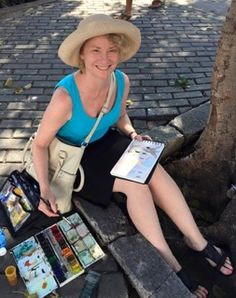 Plein air painting tours to Barcelona and the Costa Brava in Spain, Provence, Holland, France, Belgium, French Riviera and Switzerland