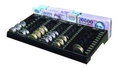 Fióktálca érmetálcával (FET-2) - Strauss Metal Aprópénz és bankjegyek kezelésére alkalmas. A gyorsabb kiszolgálást elősegíti, így elégedettebbek lesznek a vásárlók.