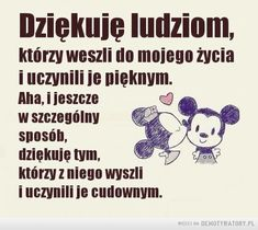 Ważna lekcja – Demotywatory.pl Motto, Sentences, Texts, Psychology, Sad, Mindfulness, Humor, Funny, Quotes