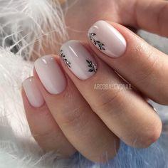 Nail Art Designs 💅 - Cute nails, Nail art designs and Pretty nails. Square Acrylic Nails, Acrylic Nail Designs, Nail Art Designs, Nails Design, Round Square Nails, Winter Nail Designs, Short Nail Designs, Bridal Nail Art, Bridal Makeup
