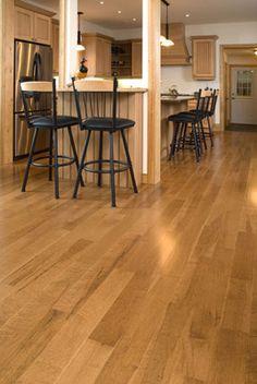 Birdseye Maple Hardwood Flooring