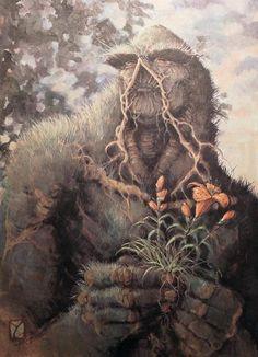 Swamp Thing by John Totleben #swampthing #dccomics #comic
