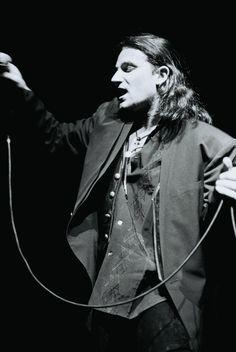 U2's Bono on stage 1987
