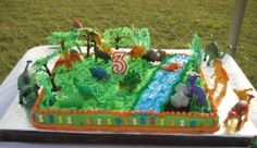 Jurrasic Park By vicky68 on CakeCentral.com