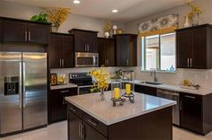 Red accent decor yellow kitchen accents kitchen photos yellow accents design pictures remodel decor and ideas Home Decor Kitchen, Country Kitchen, Home Kitchens, Kitchen Ideas, Kitchen Designs, Open Kitchen, Kitchen Tables, Cheap Kitchen, Kitchen Interior