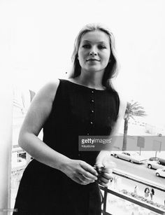 Actress Marina Vlady pictured on a balcony, attending the Cannes Film. Cannes Film Festival, Image Search, Camisole Top, Actresses, French Riviera, Tank Tops, Balcony, Pictures, Times