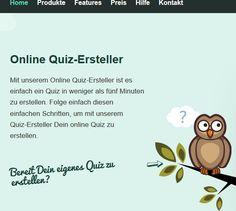 Online-Quiz erstellen