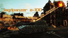 Jagdpanzer e 100 12k damage Radley Walters Medal