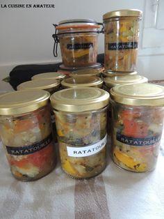 La cuisine en amateur de Maryline: Conserves de ratatouille