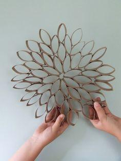 http://www.youtube.com/user/UUtCars?feature=watch Shakira Toilet Paper Roll Flower Art feelin-crafty