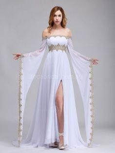 Pretty Dresses, Beautiful Dresses, Fantasy Gowns, Medieval Dress, Medieval Outfits, Medieval Fashion, Princess Wedding Dresses, Wedding Gowns, Wedding Evening Dresses