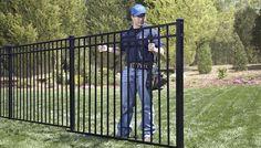 Best Aluminum Fence Black Aluminum Fence Rick S Custom 400 x 300