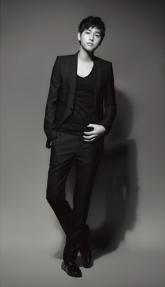 Song Joong Ki - Harper's Bazaar Magazine March Issue '13