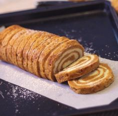 Fall favorite finally made Gluten Free!! Make this season even tastier with this gluten and egg free pumpkin roll!
