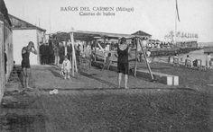 El balneario de los Baños del Carmen se inauguró en julio de 1918. Las mujeres y los hombres debían por aquel entonces bañarse por separado, y no fue hasta unos años más tarde que dicha restricción sería levantada. Así, el balneario malagueño fue uno de los primeros de España en permitir que hombres y mujeres se bañaran juntos. Sin embargo, tras la guerra civil española y coincidiendo con el inicio de la dictadura de Franco, se volvió a la separación por géneros. En 1920, se construyó un…