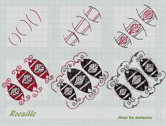 Life Imitates Doodles: My tangle pattern