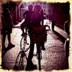 friends in bike