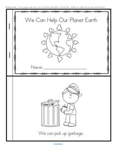 We Can Help Our Planet Earth - This booklet tells about some things that young children can do to help.