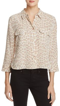 Equipment Printed Silk Blouse {worn by Gina Tognoni's Phyllis ♥ The Young + The Restless}