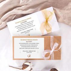 CZEKOLADOWNIKI podziękowanie dla Rodziców Kwiaty Bawełny Place Cards, Place Card Holders, Alcohol
