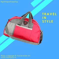 b85de1b765 Travel in Style with Bags Luggage. And Travel-ware from GottaGo.in