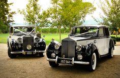 Two Tone Rolls Royce Silver Wraith and Rolls Royce Silver Dawn
