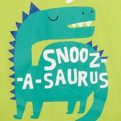 bluezoo Boy's green dinosaur printed pyjama set- at Debenhams.com