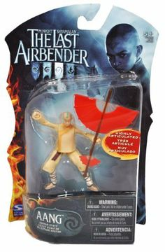 "The Last Airbender 4"" Action Figure Avatar State AANG Glider Staff by Spin Master. $9.15. For age 5 and up. Includes: Avatar State AANG with Glider Staff. Figure measured approximately 4 inch tall. Paramount Movie Series ""The Last Airbender"" 4 Inch Tall Highly Articulated Action Figure - Avatar State AANG with Glider Staff"