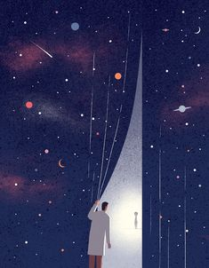 ET life. Illustration for Columbia University magazine. http://wvw.salzint.com/davide-bonazzi.html
