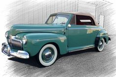 1942 Ford Super Deluxe Convertible