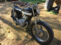 Honda cm 125 bratstyle