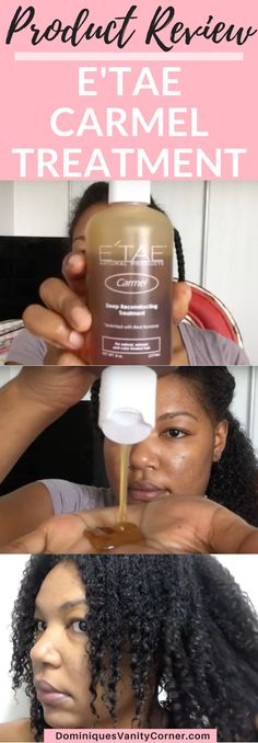 Etae Carmel Reconstructing Treatment Product Review, etae hair products, etae hair before and after, etae hair results, etae hair products diy, etae carmel treatment, etae caramel treatment, etae caramel product review, Natural Hair Protective Styles natural hair, natural haircare, protective styles, deep conditioner, shampoo, twist outs, natural hair care products, kinky curly, type 4 hair, 4c hair, big chop, transitioning, afro, finger coils, flat twist outs, braids, braid outs, eco styler