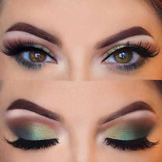 Hooded eyes are no longer a piece of work with our collection of ideas and steps. Create stunning eye makeup for any occasion and make your eyes pop. #makeup #makeuplover #makeupjunkie #hoodedeyes