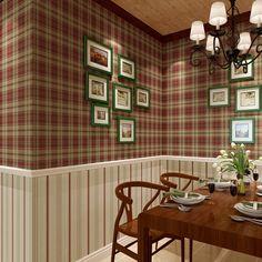Scottish Plaid American Stripe Dining 3colors ben