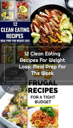 Lose weight & stay on budget with these clean eating recipes for weight loss! Meal prep these healthy lunches and clean eating dinners ahead to save time & enjoy weight loss & lose belly fat while enjoying delicious, clean eating food! From easy crockpot<br> Dinner Recipes Easy Quick, Healthy Pasta Recipes, Healthy Pastas, Healthy Lunches, Quick Easy Meals, Frugal Meals, Budget Meals, Clean Eating Recipes For Weight Loss, Clean Eating Dinner
