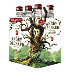 Angry Orchard Elderflower Hard Cider - crisp and fragrant, with light fruity notes reminiscent of citrus and lychee.  I love the label.