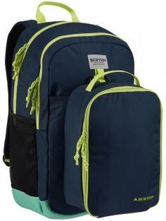 Burton Kids' Lunch-N-Pack Backpack, Dress Blue Nylons, 35l Backpack, Burton Rucksack, Burton Kids, Finding A House, North Face Backpack, School Bags, Blue Dresses, Bag Accessories
