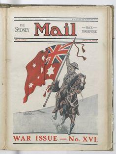 Australian People, Australian Vintage, Australian Flags, Pulp Magazine, World War I, Vintage Posters, Photo Art, Sydney, Fine Art Prints